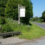 Daisy Bank Sign post