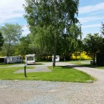 Fully serviced pitches in Camlad