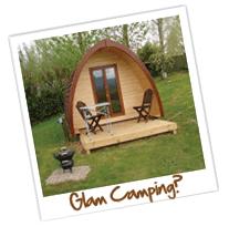 glam camping daisy bank