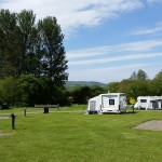 Caravans in the Meadow