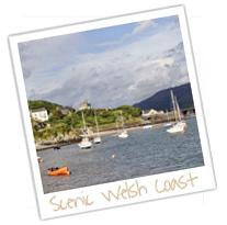 scenic welsh coast
